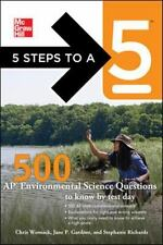 5 Steps to a 5: 500 Ap Environmental Science Questions to Know by Test Day, Fi.
