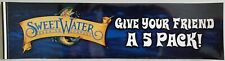 "Sweetwater Brewing Company Sticker ""Give your Friend a 5 Pack!"" Beer Brewery New"