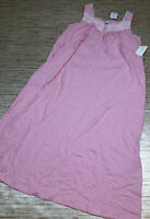 VV-60 Charter Club soft knit pajama nightgown PINK dot size XS new