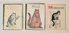 B.Kliban vintage 1977 Cat cards lot set