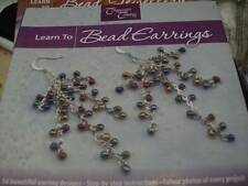 Learn To Bead Earrings Craft Book -54 Designs By Company's Coming, Paperback