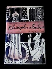Nonfiction The World of Christopher Marlowe First American Edition Textbooks