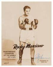 Rocky Marciano *POSTER* Boxing Champion UNDEFEATED  - AMAZING IMAGE