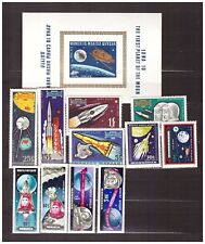 MONGOLIA Space MNH 11v + S/S      s22817
