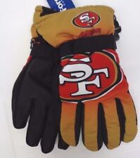 989030e067e14 Forever Collectibles - NFL Gradient Big Logo Insulated Gloves-large xl San  Fran