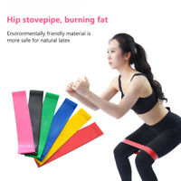 6/Set Resistance Bands Loop Exercise Workout CrossFit Fitness Stretching Yoga