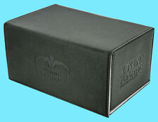 ULTIMATE GUARD TWIN FLIP n TRAY BLACK 160+ CASE XENOSKIN Standard Size Card Box
