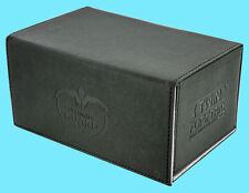 ULTIMATE GUARD TWIN FLIP n TRAY BLACK 160+ XENOSKIN DECK CASE Game Card Box MTG