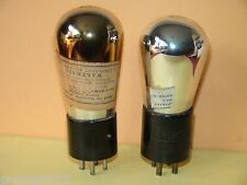 2 201-A CX301 Vacuum Tubes Very Strong  Results =  34 36