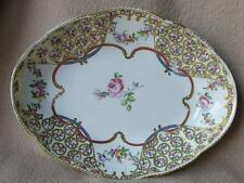 ANTIQUE GEORGIAN CHINESE EXPORT DESSERT PORCELAIN DISH WITH CROWN DERBY MARK