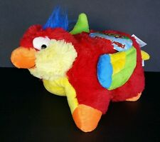 "Pillow Pet Pee Wees tropical parrot gift birthday girl boy girl 12.5""X11""X4.5"""