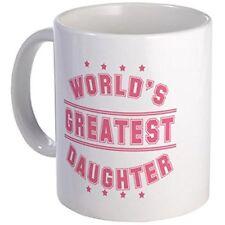 11oz mug World's Greatest Daughter - White Ceramic Coffee/Tea Cup