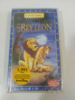 Il Re Leon Animazione Manica Films VHS Nastro Castellano New Nuovo