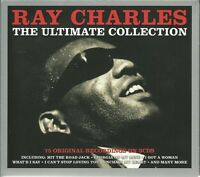 RAY CHARLES THE ULTIMATE COLLECTION - 3 CD BOX SET - HIT THE ROAD JACK & MORE