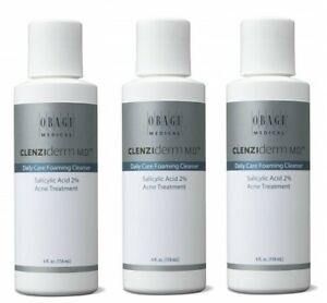 Obagi Clenziderm MD Daily Care Foaming Cleanser 4 oz - 3 Pack