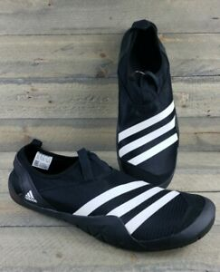 adidas Men's Terrex Climacool JAWPAW Slip On Water Shoe Black/White NWT