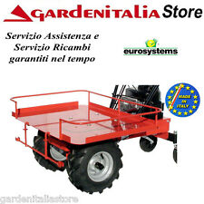 Piattaforma in Lamiera  EUROSYSTEMS per Mod. CARRY  - Accessorio Motocarriola