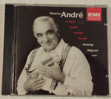 Maurice Andre Bach Corelli Handel Purcell Hedwig Bilgram Organ CDs Free Ship