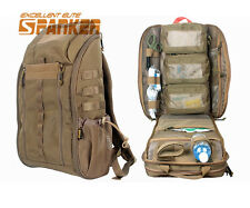 Tactical Molle Medical First Aid Backpack Rucksack Emergency Rescue Bag Coyote B
