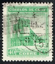 CHILE STAMP RPO RAILWAY CANCELLATION AMBULANCIA # 57