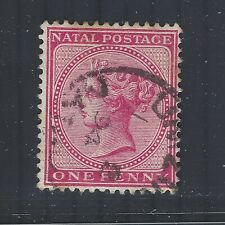 South Africa - Natal QV 1882-89 sg98 Used (wmk Crown CA)
