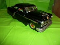 RARE VINTAGE MARUSAN MADE IN JAPAN 1952 FORD BLACK TIN FRICTION TOY CAR!!