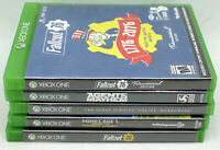 Lot of 5 Xbox One Games Fallout 76 Tricentennial,Minecraft,Morrowind,Agents
