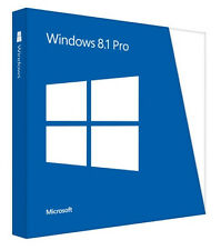 Microsoft Windows 8.1 Professional 32bit & 64bit for 1 PC Download License
