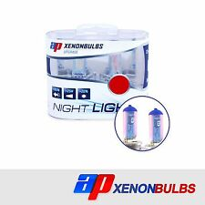 H4 Super White +90% Xenon Headlight Bulbs Fits Land Rover Discovery MK2 2.5 TD5
