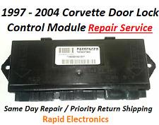 1997 - 2004 Corvette Door Lock Control Module Repair Service