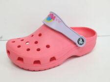 Scarpe pantofole rosi per bambini dai 2 ai 16 anni da infilare