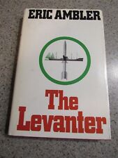 THE LEVANTER! - 1972, Eric Ambler, Hardcover Book, Pre-Owned, Clean