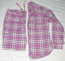 f728789dbe UGG Raven Woven Long Sleeve Shirt Pant Bodaciou Plaid Flannel PJ Set Size  Small