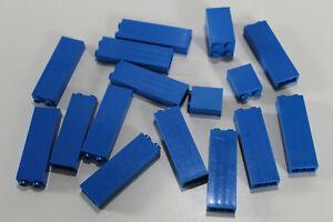 LEGO 16 Paneele Säule Wand Stütze 2454 30145 blau blue #1824