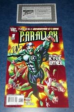 TALES of the SINESTRO CORPS PARALLAX #1 signed RON MARZ DC 2007 GREEN LANTERN NM