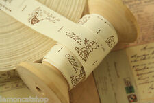 Country Girl Sewing Tape zakka cotton ribbon labels craft projects fabric trim