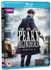 Peaky Blinders Series 4 FOUR (Blu-ray Region-Free)~~~Cillian Murphy~~~NEW SEALED
