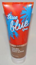 NEW BATH & BODY WORKS TRUE BLUE SPA MALIBU SMOOTH BODY SCRUB WASH ALGAE 8 OZ HTF