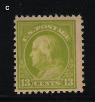 1919 Sc 513 MNH 13c apple green Sc CV $21  C