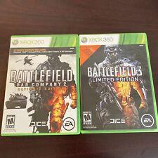 Battlefield: Bad Company 2 And Battlefield 3 (Xbox 360) - Free Shipping