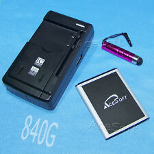 Lot Accessory Acesoft Battery Dock Charger Stylus 4 LG 840G Tracfone Smart Phone