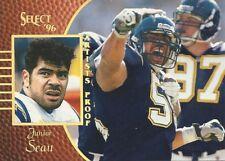 1996 Select Junior Seau Artist Proof San Diego Chargers California USC HOF