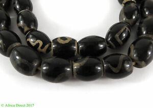 Mock Dzi Stone Beads Asia 28 Inch SALE WAS $39.00