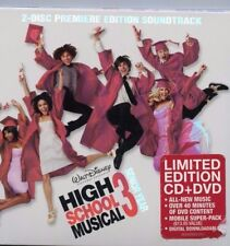 HIGH SCHOOL MUSICAL 3 SENIOR YEAR LIMITED ED. CD AND DVD * LIKE NEW!