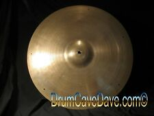 "Vintage 1950s/60s 22"" Zildjian Sizzle Ride Cymbal, Superb Condition! Demo Video"