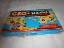 Geo-Graphy World-Wide Cadaco Board Game *Vintage*