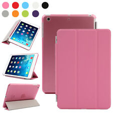 For Apple iPad 2 3 4 5 6 Air Mini 1 2 3 Magnetic Smart Cover Leather Back Case