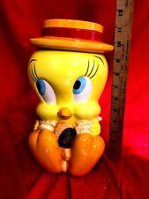 """11"""" Novelty Tweety Bird Cookie Jar"""