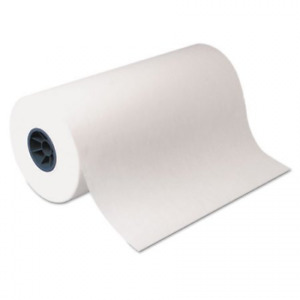 "Polyethylene-Coated Freezer Paper Roll 18"" x 1100 ft. White Plastic Wrap NEW"