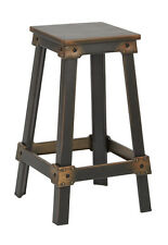 """Office Star New Castle 26 """" Antique Copper Metal Barstool, KD NCL3126-AC Stool"""